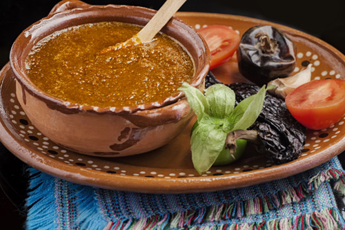Tomato and Tomatillo Salsa